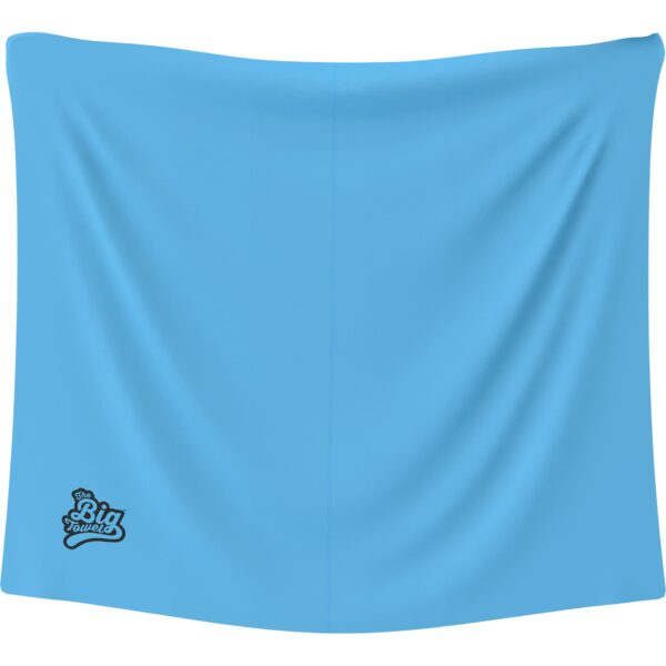 The Big Towel Classic Solids Blue Lagoon