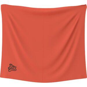 The Big Towel Classic Solids Orange Burst