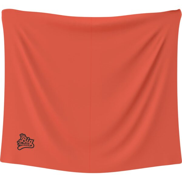 The Big Towel Classic Solids Orange Burst