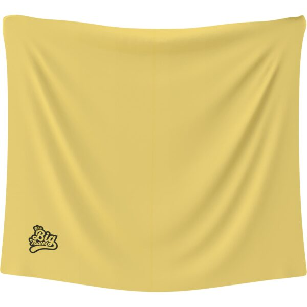 The Big Towel Classic Solids Yellow Summer
