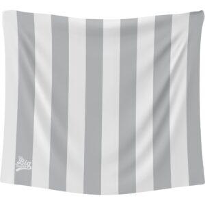 The Big Towel Coastal Stripes Santorini Stone