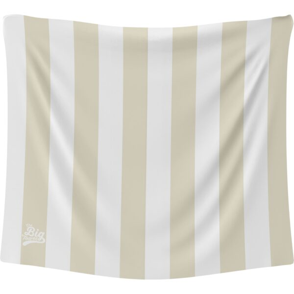 The Big Towel Coastal Stripes Whitsunday Sand