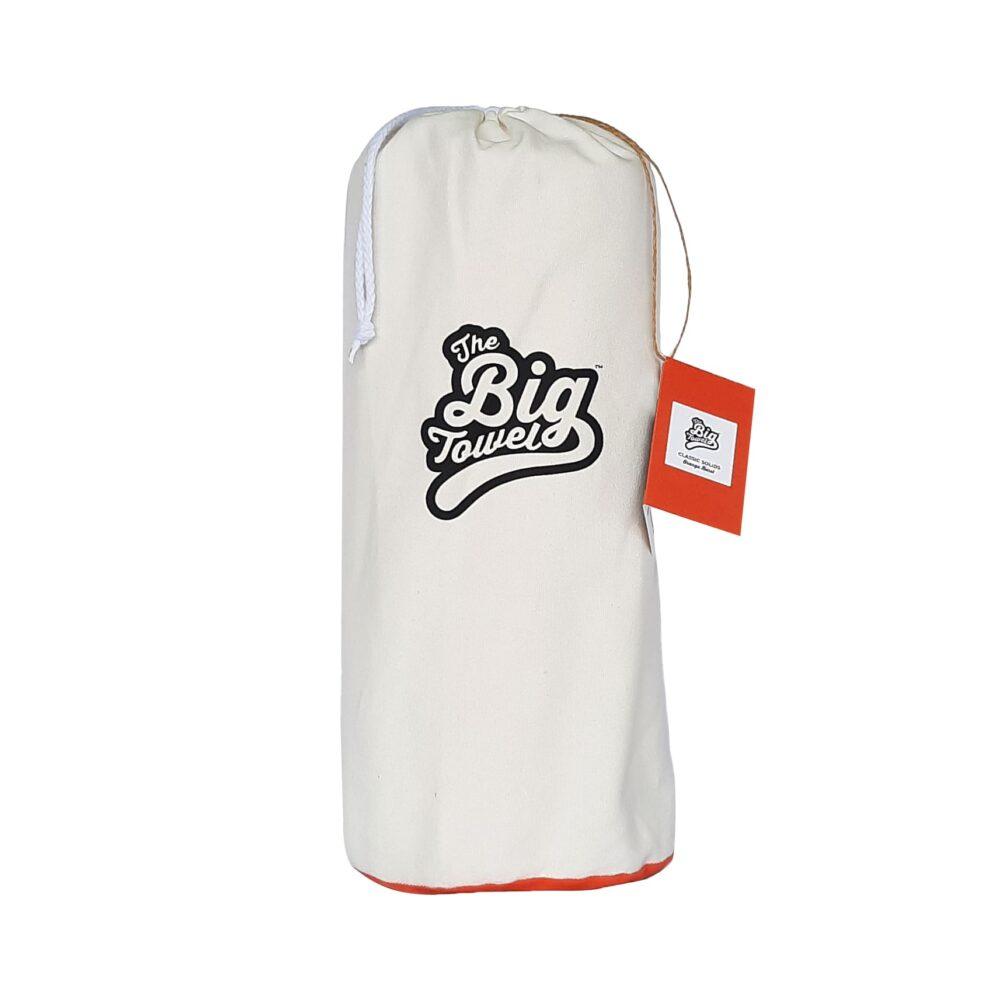 The Big Towel Canvas Bag Orange Burst