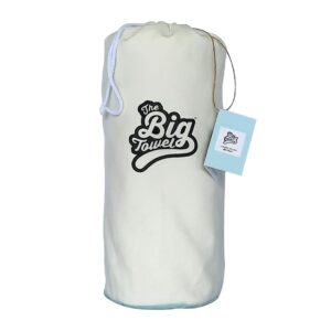 The Big Towel Canvas Bag Classic Solids Sea Foam