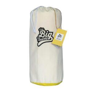 The Big Towel Canvas Bag Classic Solids Yellow Summer