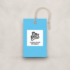 The Big Towel Product Tag Blue Lagoon