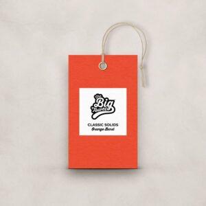 The Big Towel Product Tag Orange Burst