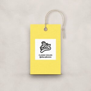 The Big Towel Product Tag Yellow Summer