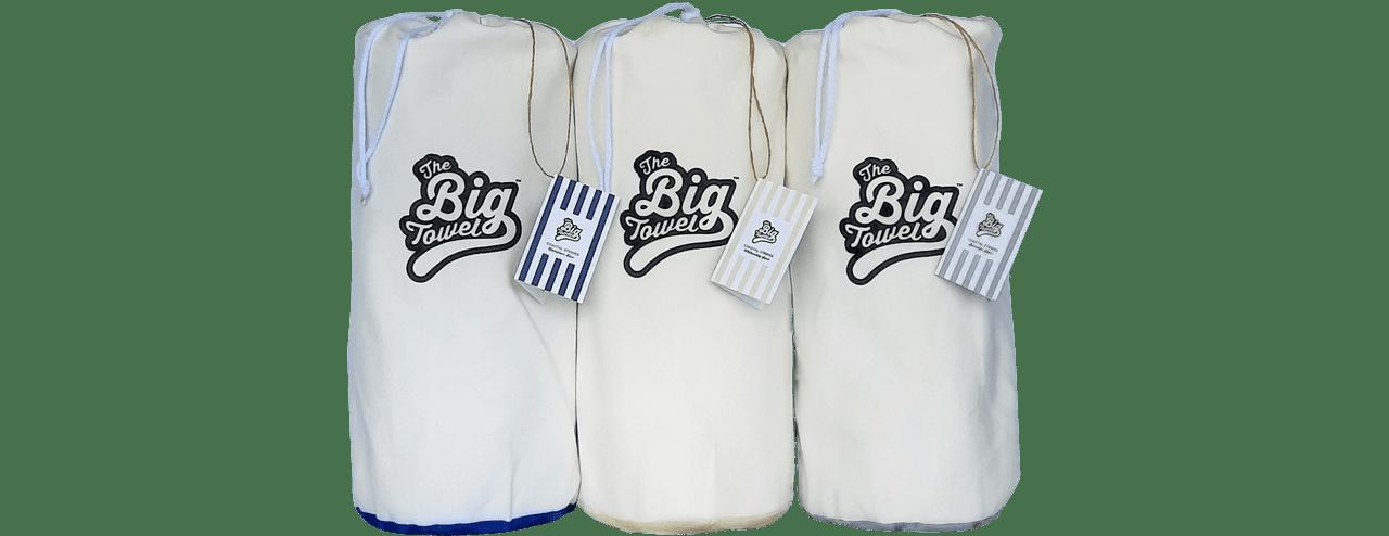 The Big Towel Coastal Stripes Collection