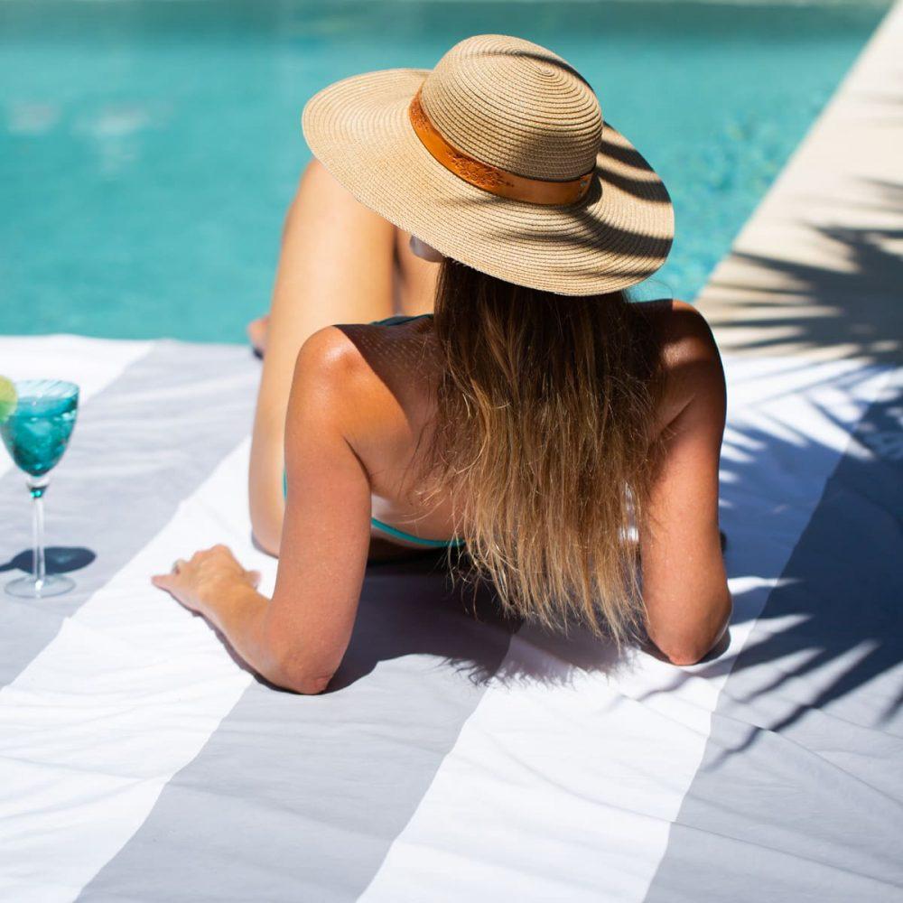 The Big Towel - Santorini Stone